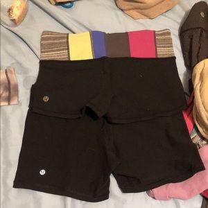 🍋 LULULEMON 🍋 2 booty shorts